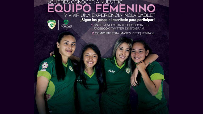 Concurso: Conoce el equipo femenino de La Equidad Seguros S.A.