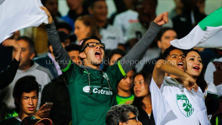 Boletería para el juego ante Deportes Tolima