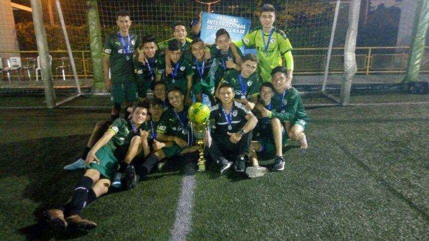Concluyó la participación en la Medellín Soccer Cup