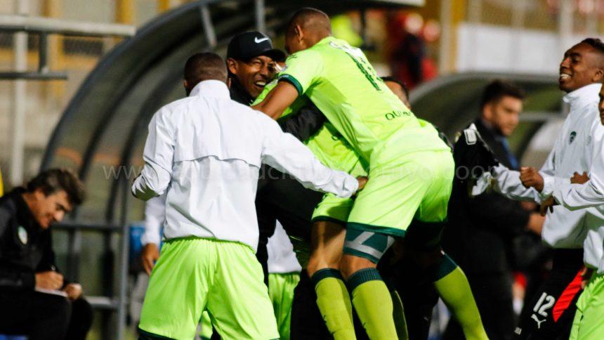 Empate 1-1 frente a El Nacional de Ecuador