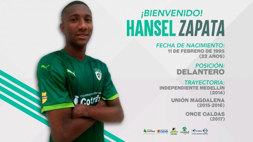 Hansel Zapata, ya es 'Asegurador'