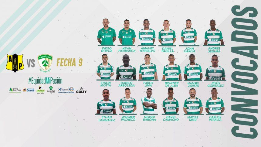 Convocados vs. Alianza Petrolera, Liga 2019-I