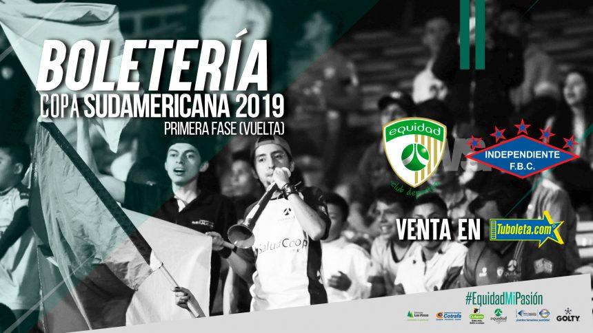 Boletería Copa Sudamericana Vs Independiente (PAR)