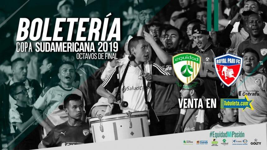 Boletería vs. Royal Parí por Copa Sudamericana