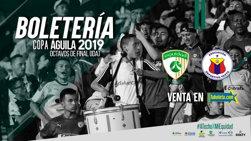 Boletería vs. Deportivo Pasto por Copa Águila 2019