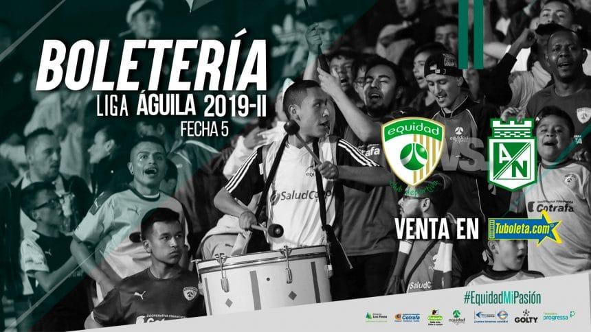 Boletería vs. Atlético Nacional en El Campín